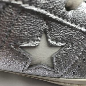 8914d486d5b7 Converse Shoes - Converse One Star Heavy Metallic Leather Low Top